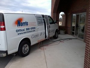 Carpet cleaning truck in Indianapolis Indiana